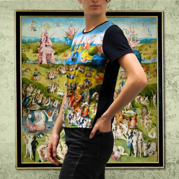 Camiseta el jardín de las delicias