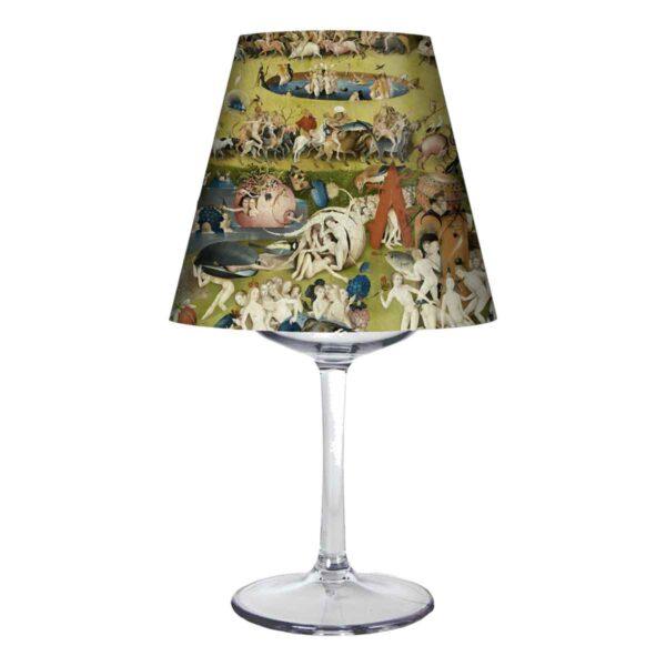pantalla lampara para copa