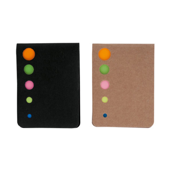 NOTEPAD WITH ADHESIVES
