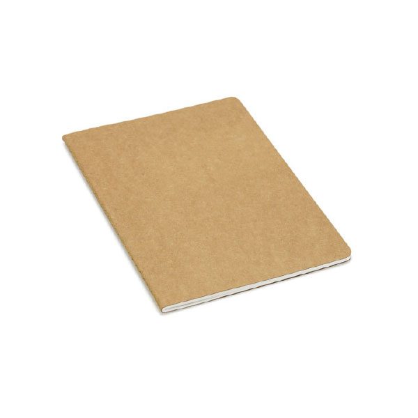 CARDBOARD NOTEPAD WITH POCKET