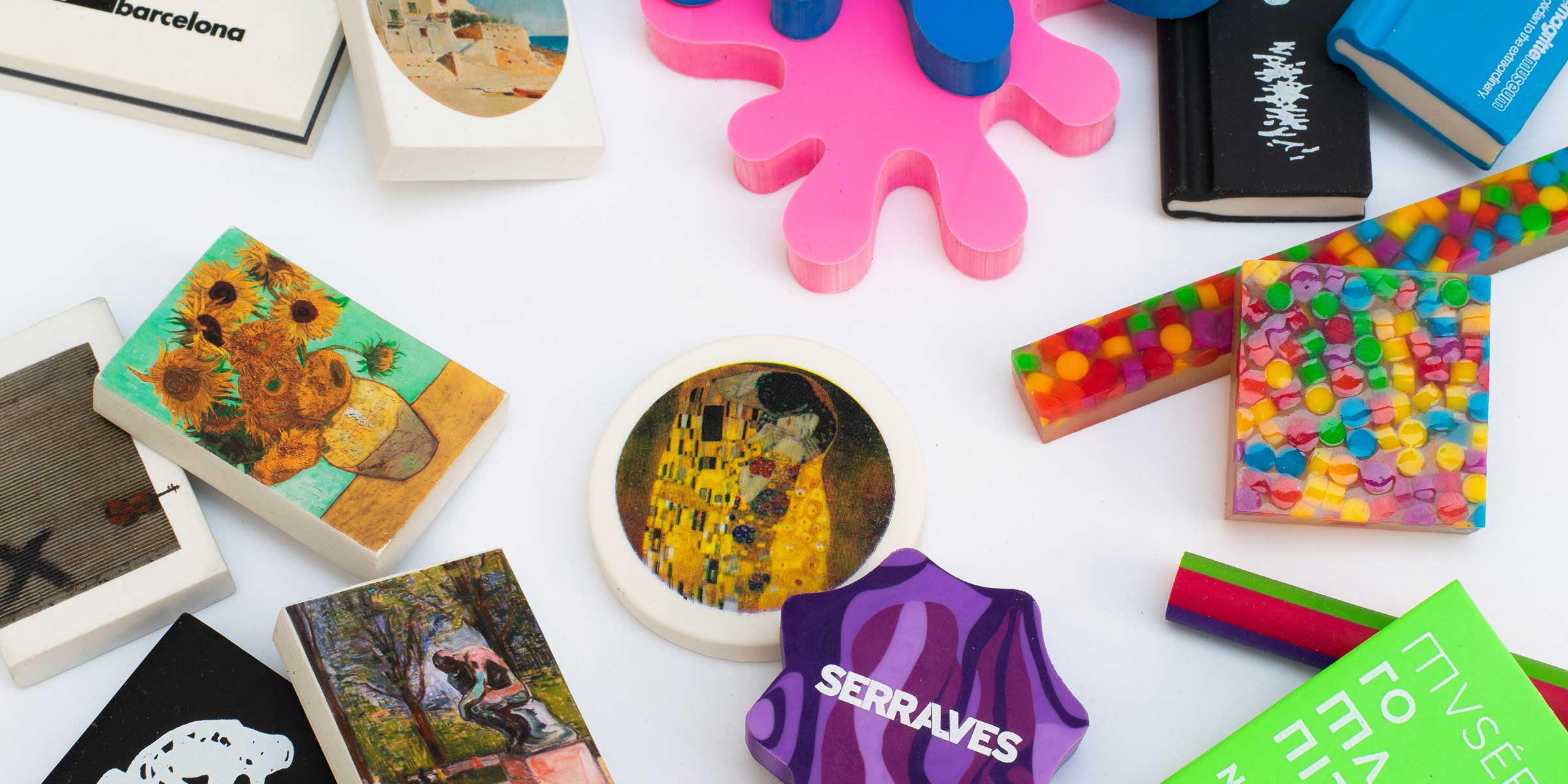 customizable erasers