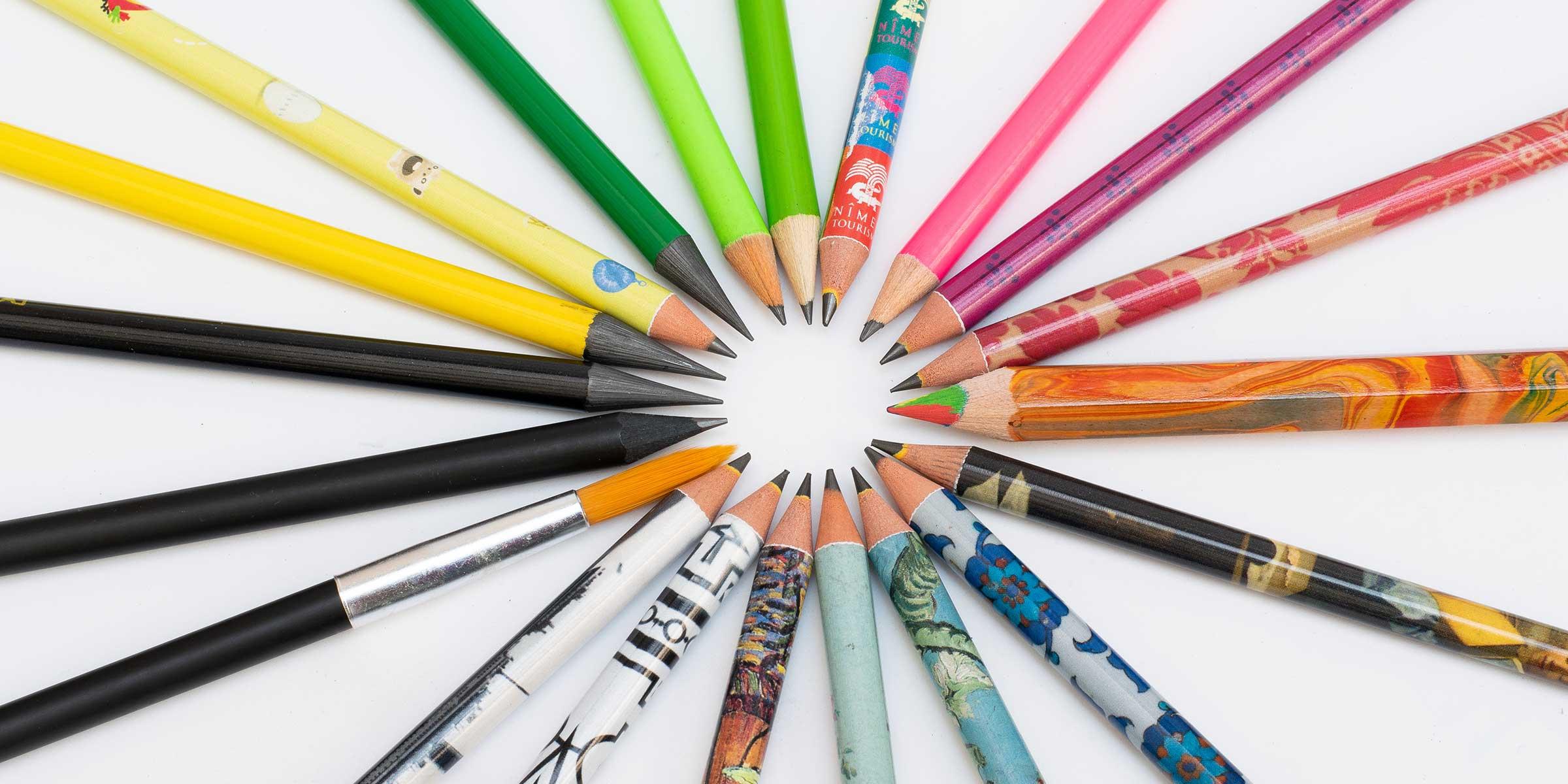customizable pencils