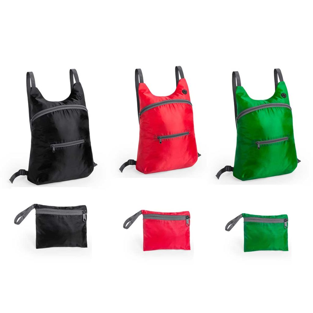 FOLDABLE POLYESTER BACKPACK