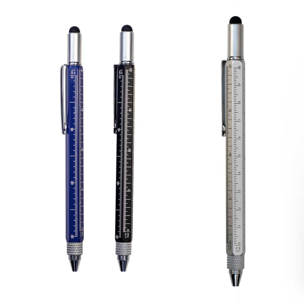 Bolígrafo multifunción metálico