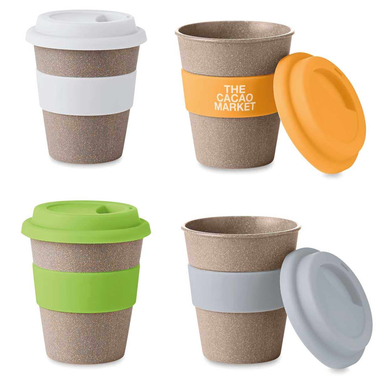 REUSABLE CUP WITH COLORS