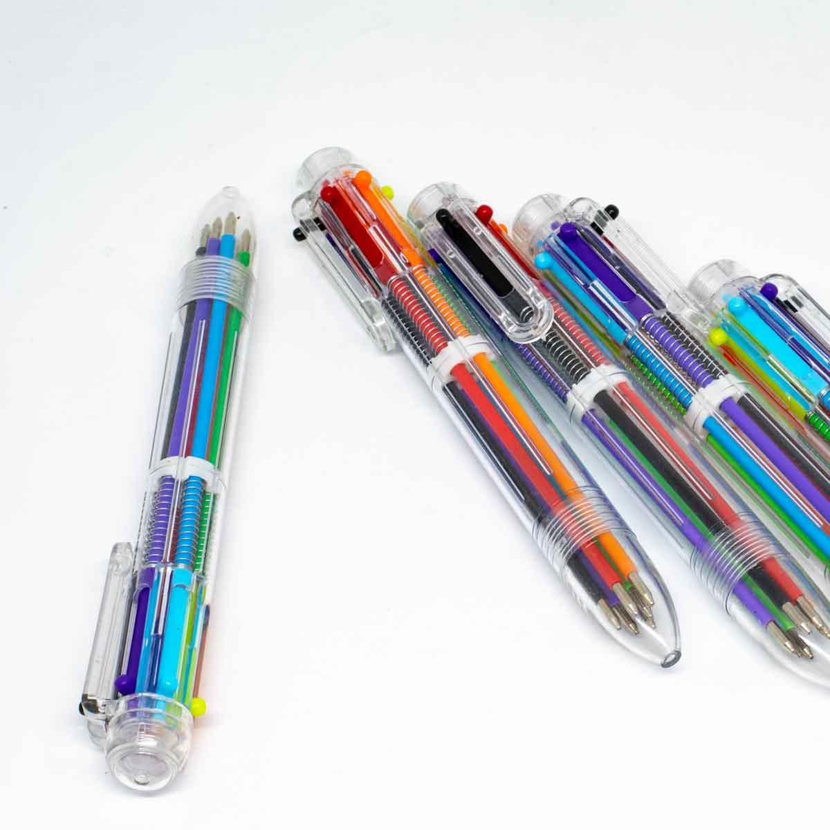 6 in 1 ball pen