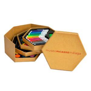 set-para-colorear-kessler museum merchandising