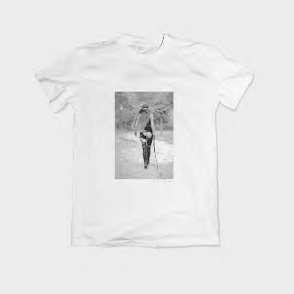 camiseta entallada mujer