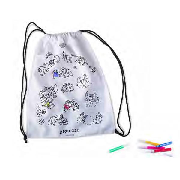 mochila para colorear