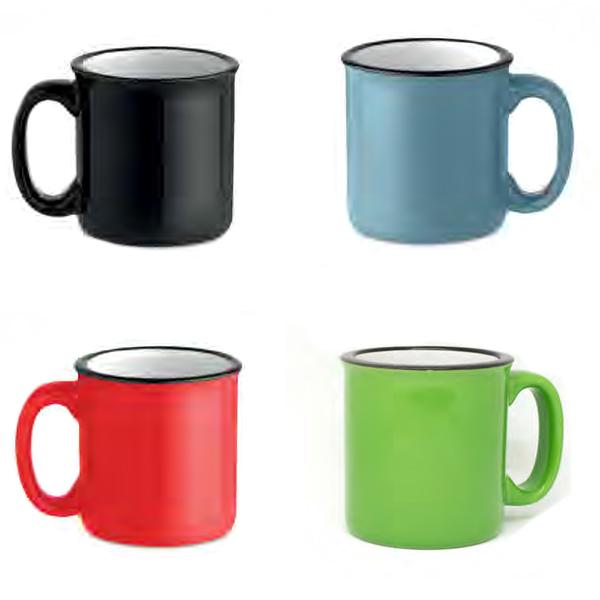 mug vintage cerámica