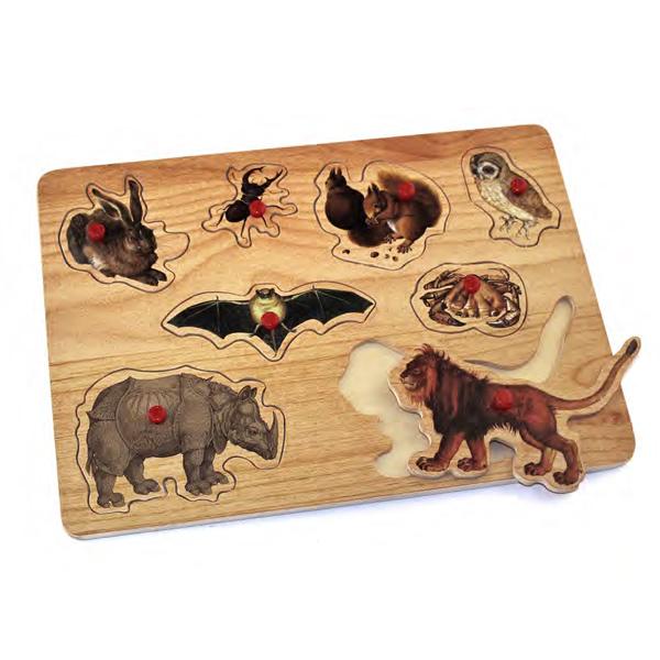 puzle de madera