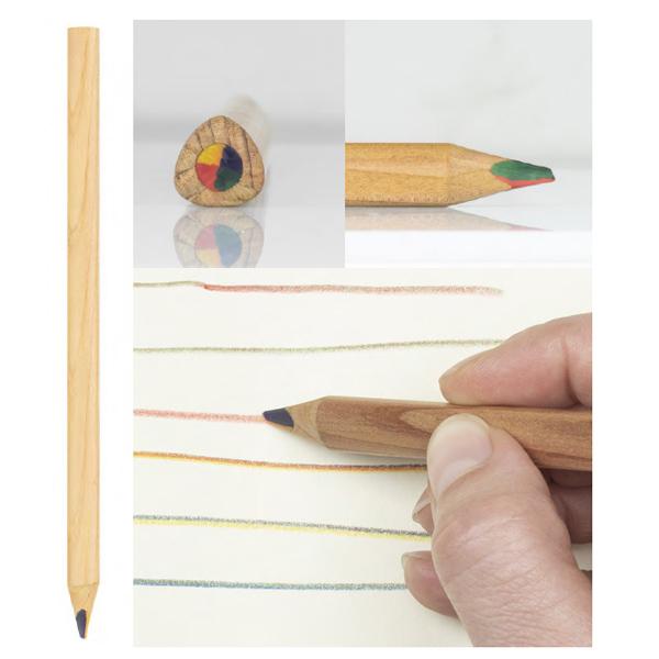 lápiz multicolor