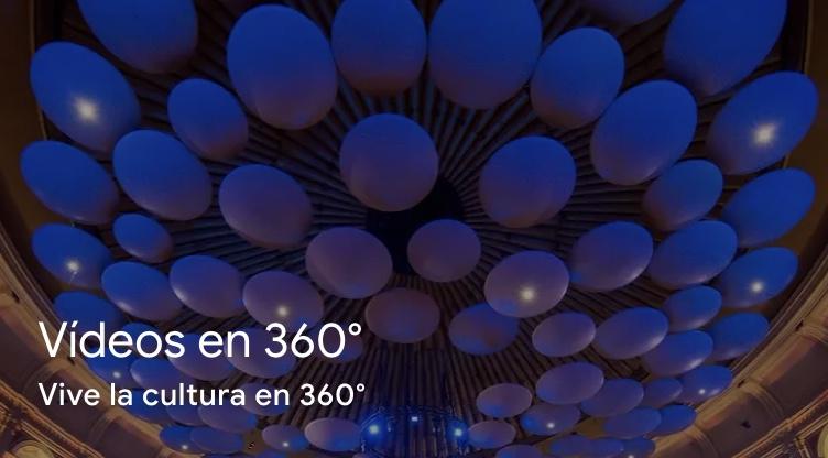 Google vídeos en 360