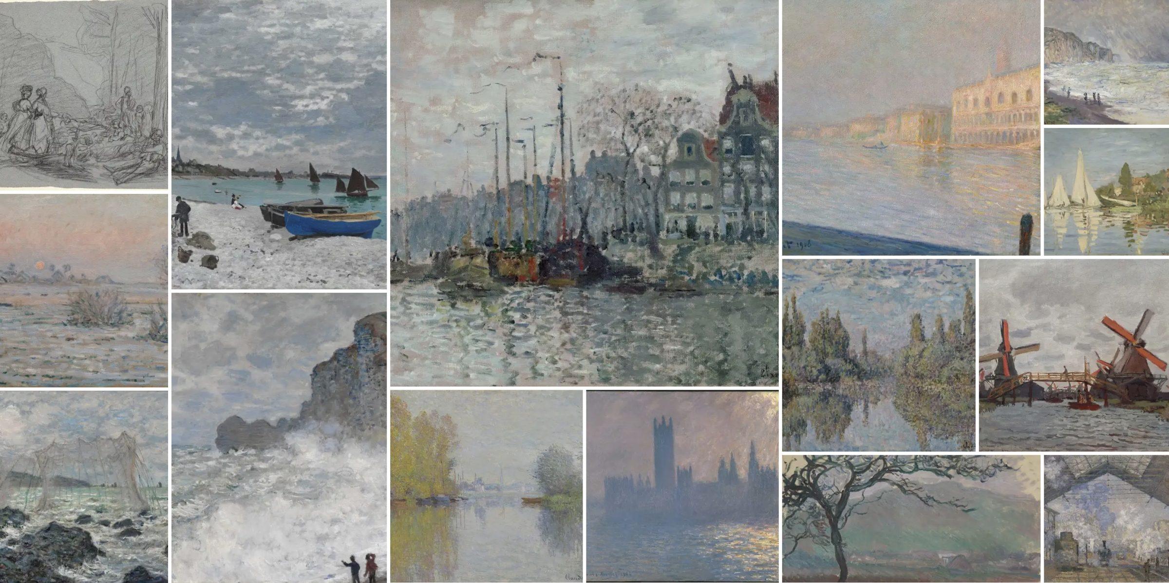 Tonos grises de Monet